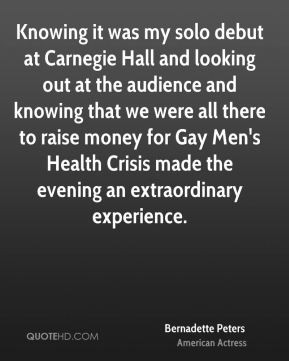 Carnegie Hall Quotes