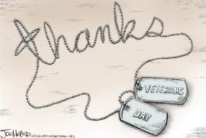 Veterans Day cartoons