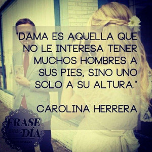 Carolina herrera quotes