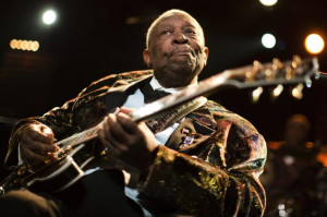 Celebrate the life of B.B. King, pictured at the 45th Montreux Jazz ...