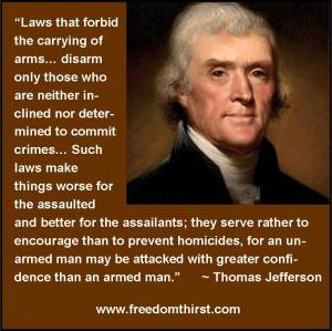 thomas jefferson on guns