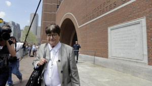 Death penalty opponent Sister Helen Prejean leaves federal court in ...
