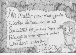 Jinxx quote by Rainwoulddash