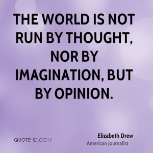 Elizabeth Drew Imagination Quotes