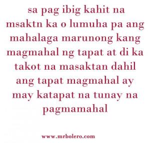 Mga quotes na patama tagalog love quotes