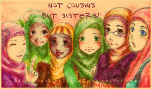 Cousins Are Like Sisters Are like sisters to me.