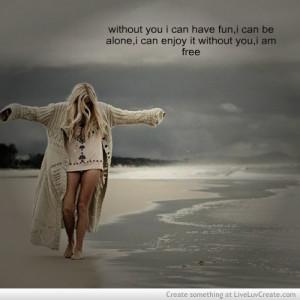 cute, im free, life, quote, quotes