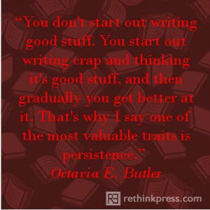 Octavia E Butler - she has since died but her amazing work lives on ...