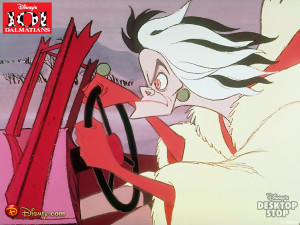 Disney Villains Cruella de Vil Wallpaper