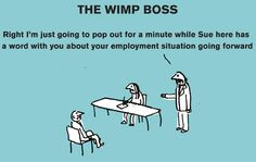 guide to bad bosses, by cult illustrators Modern Toss More
