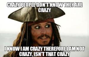 Jack Sparrow Crazy Quote