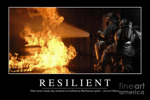 Resilient Inspirational Quote Photograph