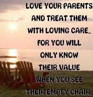Quotes about Parents: Love Your Parents
