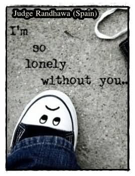 So Lonely Without You Sad Quote