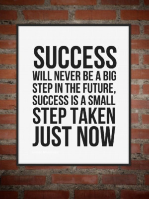 Take small steps. www.directselling.me
