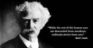 Mark Twain got it right.