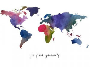 Go find yourself. www.greenglobaltravel.com
