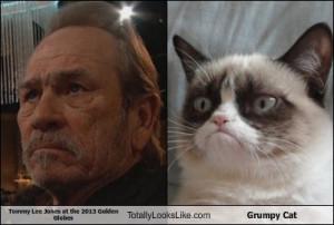 Grumpy Cat Tommy Lee Jones