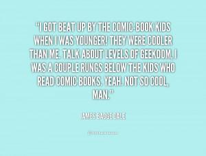 Comic Book Quotes