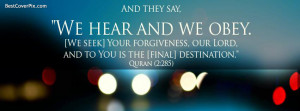Islam | Best Quran Sayings Facebook Cover Photo