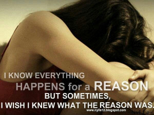 Mistakes happen for a reason