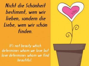 Popular German Love Sayings