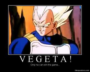 Vegeta's Win by evileva