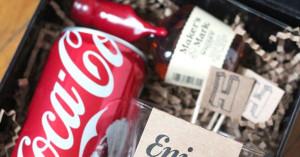Groomsmen gift. Jack and coke kit
