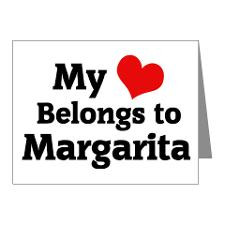 Margarita Sayings Thank You Cards & Note Cards