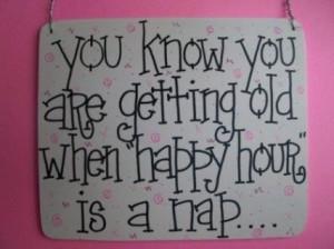 Happy Hour . . .
