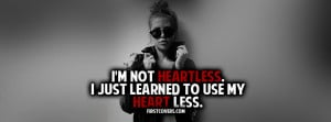heartless , quote , quotes , heart broken , covers