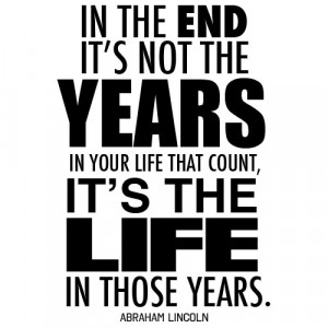 All Great Quotes to Live By - Life is Great Quotes - In the end it's ...