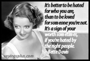 Bette Davis Famous Quote