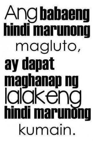 Funny Quotes Tagalog Banat. QuotesGram