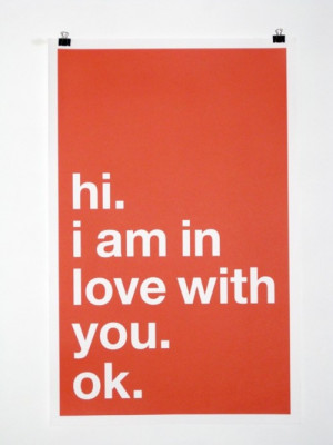 hi_i_am_in_love_with_you_ok_poster_design_typography