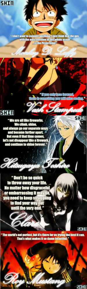 awesome anime quotes