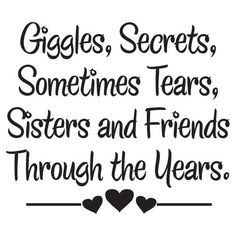 ... friends through the years. #sorority #sisters #friends #quotes More