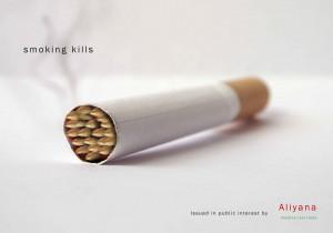 smoking kills ads