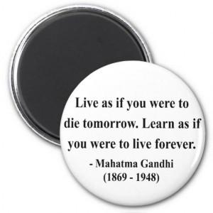 Gandhi Quote 4a Refrigerator Magnet