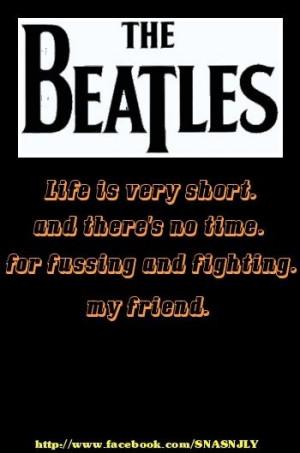 Beatles #Friend #quote #saying via http://mw2f.blogspot.ca/p/best ...
