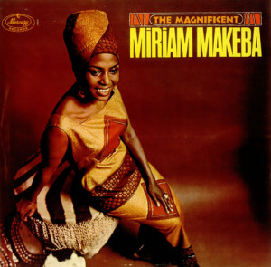 Miriam Makeba, The Magnificent, UK, Deleted, vinyl LP album (LP record ...