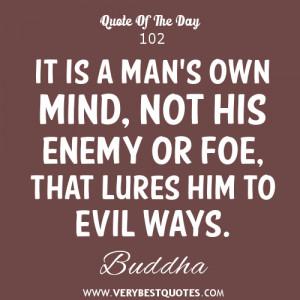 mind quotes, Buddha Quotes