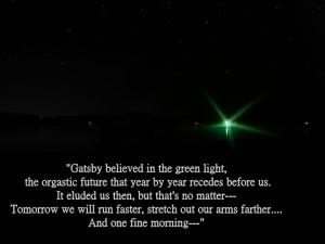 The Green Light....