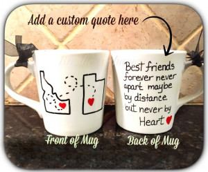 best friend mug best friend mug quote mug unique coffee mug going away ...