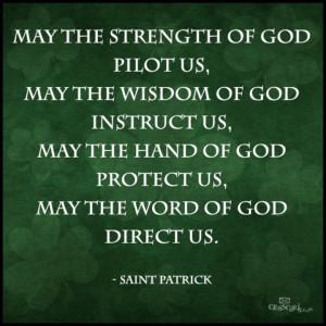 St. Patrick's Prayer
