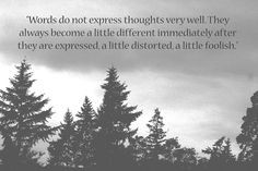 quote from Herman Hesse ... perhaps that's why I always look to ...