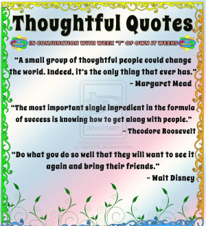 Thoughtful Quotes by zabs3205