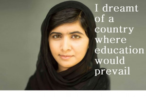 malala yousafzai quotes - Google Search