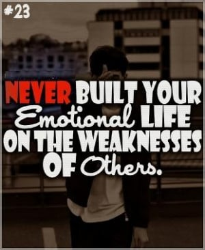 Emotional Quotes Love Life And