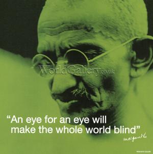 Mohandas Gandhi Nonviolence